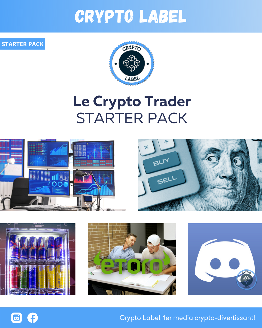 CRYPTO TRADER - Crypto Label STARTER PACK