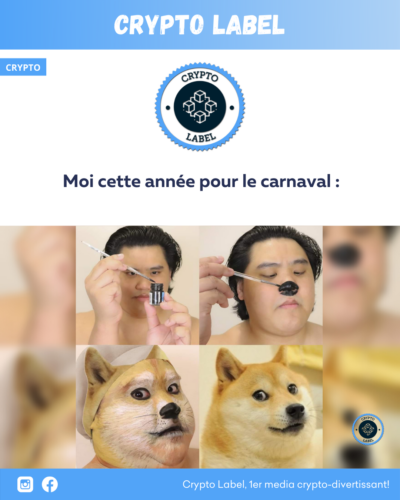 Dogecoin carnaval-crypto-label