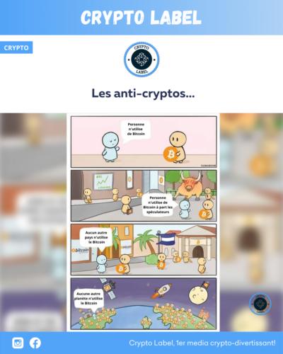 Les anti-cryptos -crypto-label