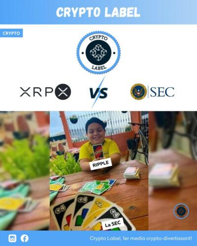 Ripple vs La SEC -crypto-label