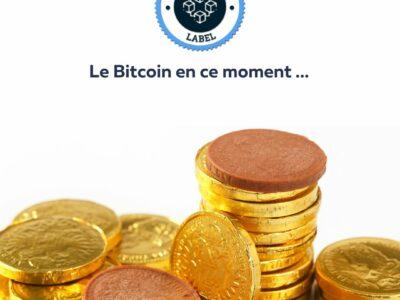 Le Bitcoin en ce moment -crypto-label